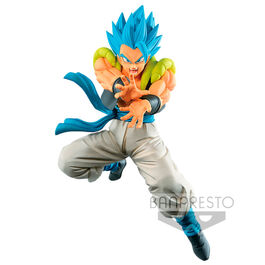 FIGURA DRAGON BALL SUPER KAMEHAMEHA GOGETA SUPER SAIYAN BLUE 18 CM