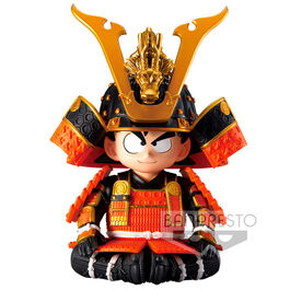FIGURA DRAGON BALL GOKU JAPANESE ARMOR AND HELMET DRAGON 12 CM