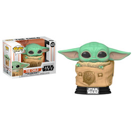 FIGURA POP STAR WARS MANDALORIAN THE CHILD WITH BAG (BABY YODA EN BOLSA) 9 CM