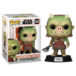 FIGURA POP STAR WARS THE MANDALORIAN GAMORREAN FIGHTER 9 CM