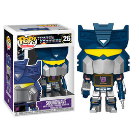 FIGURA POP TRANSFORMERS SOUNDWAVE 9 CM