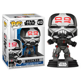 FIGURA POP STAR WARS CLONE WARS WRECKER 9 CM