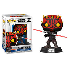 FIGURA POP STAR WARS CLONE WARS DARTH MAUL 9 CM