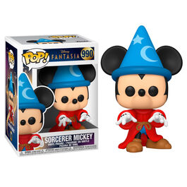FIGURA POP DISNEY FANTASIA 80TH SORCERER MICKEY 9 CM