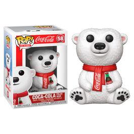 FIGURA POP COCA COLA POLAR BEAR 9 CM