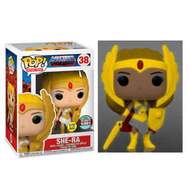 FIGURA POP MASTERS OF THE UNIVERSE SHE-RA GLOW 9 CM