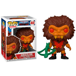 FIGURA POP MASTERS OF THE UNIVERSE GRIZZLOR 9 CM
