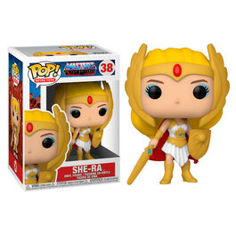 FIGURA POP MASTERS OF THE UNIVERSE SHE-RA 9 CM