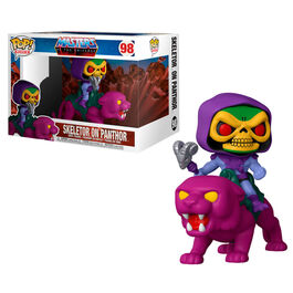 FIGURA POP MASTERS OF THE UNIVERSE SKELETOR ON PANTHOR 18 CM