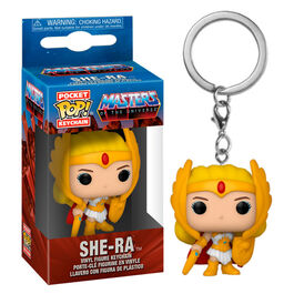 LLAVERO POP MASTERS OF THE UNIVERSE SHE-RA 4 CM