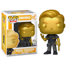 FIGURA POP FORTNITE MIDAS METALLIC 9 CM