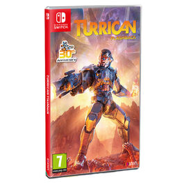 TURRICAN FLASHBACK SWITCH