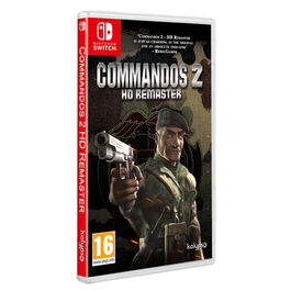 COMMANDOS 2 HD REMASTER SWITCH