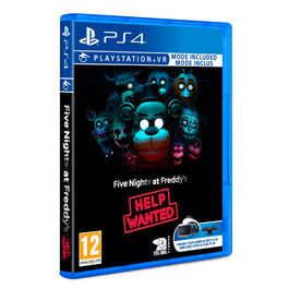 FIVE NIGHTS AT FREDDY'S HELP WANTED PS4 (VR COMPATIBLE)