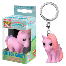 LLAVERO POP MY LITTLE PONY COTTON CANDY 4 CM