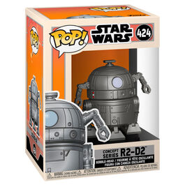 FIGURA POP STAR WARS CONCEPT SERIES R2-D2 9 CM