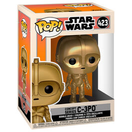 FIGURA POP STAR WARS CONCEPT SERIES C-3PO 9 CM