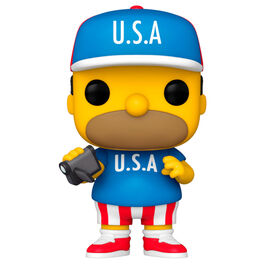 FIGURA POP LOS SIMPSON USA HOMER 9 CM