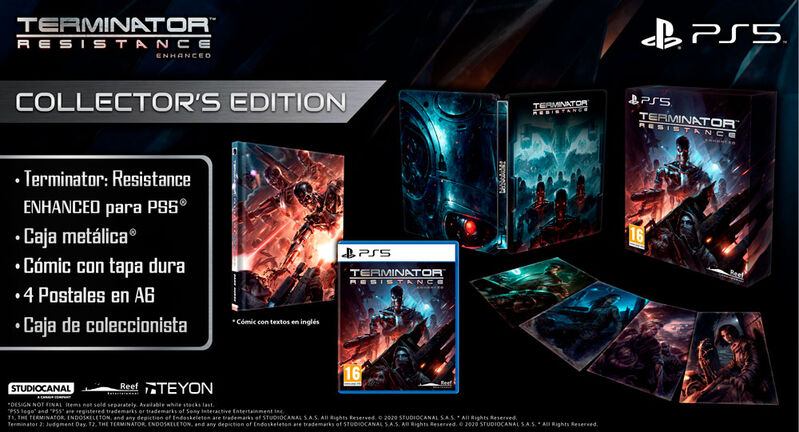 TERMINATOR RESISTANCE ENHANCED EDITION COLLECTOR EDITION PS5