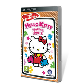 HELLO KITTY PUZZLE PARTY ESSENTIALS PSP